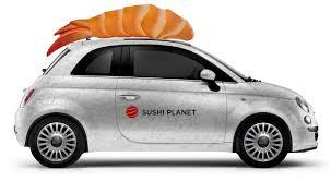 Брендирование авто под суши